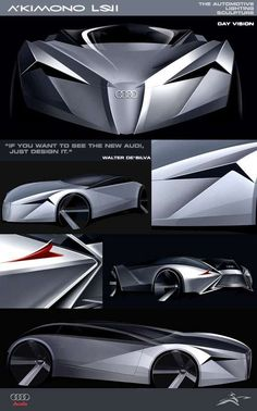 Illuminated Cars of the Future - Audi A'KIMONO LS2.0 Design Emerges from Lighting Concept (GALLERY)