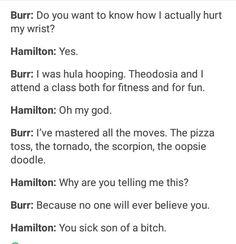 Haha, me too Burr.