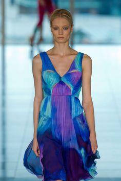 Matthew Williamson S/S '13 - tie dye fashion