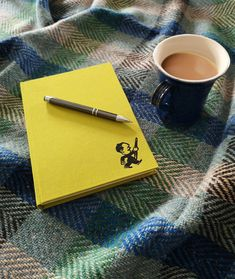 A warm blanket, a good read and a hot drink = the perfect Saturday combination. All our wool throws are designed and made at our mill in Donegal. Wool Throws, Sofa Bed Throws, Warm Blankets, Donegal, Home Accessories, Interiors, Drink, Hot, Design