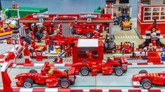 https://flic.kr/p/vgS9aF | EXPO 100% LEGO - Ferrari