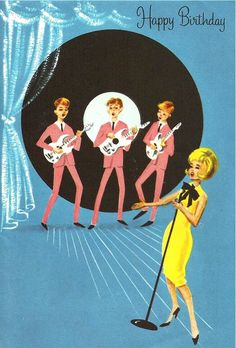 Great old 1960's card.