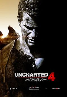 Uncharted 4: A Thief's End poster by Sonic-Sun.deviantart.com on @DeviantArt