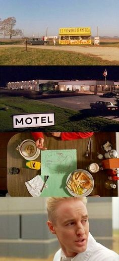 Cheap motels/road trips/Diners/Young & Free #BottleRocket