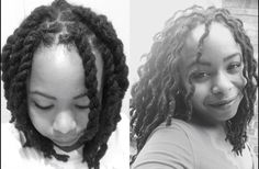 Locs hair style two-strand twist out #dreaded #dreadlocks