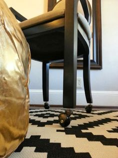Adding Casters To An Office Chair