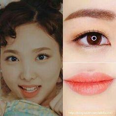 Kpop Makeup - inspiração Twice
