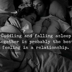 Falling asleep in your arms is the best. best part of going to bed is knowing i'm cuddled up with you. Cute Love Quotes, Romantic Love Quotes, Love Quotes For Him, Romantic Couples In Bed, Relationships Love, Relationship Quotes, Life Quotes, Healthy Relationships, Boyfriend Quotes