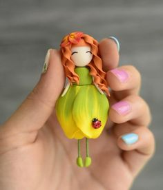 Diy Arts And Crafts Cute Crafts Hobbies And Crafts Creative Crafts Crafts For Kids Art For Kids Diy Clay Polymer Clay Crafts Resin Crafts Polymer Clay Fairy, Sculpey Clay, Cute Polymer Clay, Cute Clay, Polymer Clay Dolls, Polymer Clay Projects, Clay Fairies, Flower Fairies, Clay Figures