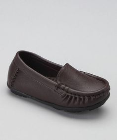 Take a look at this Brown Driving Loafer by China Doll on #zulily today!#fall