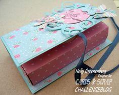 Cards en Scrap Challengeblog: Workshop 91 Papierenzakdoek doosje