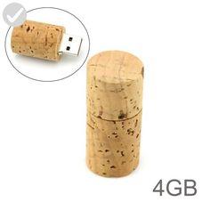4GB Round Wood USB Flash Drive (Beige) - Refine your workspace (*Amazon Partner-Link)