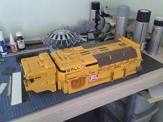 WALL-E TRUCK. £6 AT A CHARITY SHOP Wall E, Game Terrain, 40k Terrain, Hot Wheels Storage, Sci Fi Miniatures, Starship Concept, Sci Fi Models, Steampunk Design, Charity Shop