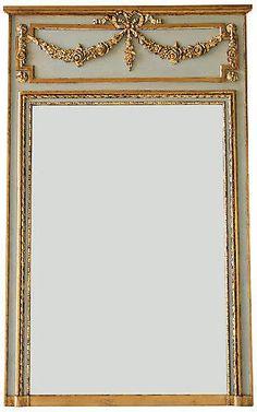 Ave Home Regent 40 Trumeau Wall Mirror Trumeau Mirror, Diy Mirror, Mirror Art, Mirror Ideas, Create Color Palette, French Mirror, Mirror Panels, Sunburst Mirror, Wall Drawing