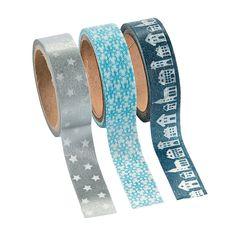 Winter Washi Tape - OrientalTrading.com