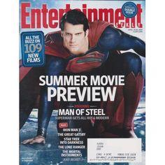 Entertainment Weekly | Superman Man of Steel | Summer Movie Preview | Iron Man 3 | Star Trek | April 19, 2013 #1255