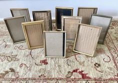 56 Best Picture Frames Vintage Metal Resin Images Vintage Metal