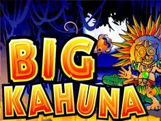 Big Kahuna to klasyczna, by nie rzec oldskulowa, gra hazardowa nawiązująca tematycznie do maszyn owocowych. Jest to pięciobębnowy slot o dziewięciu liniach wygrywających. Producent gry, firma Microgaming, niedostatki graficzne postanowiła nadrobić oferując graczom dwie rundy bonusowe: Volcano Bonus i Mask Bonus.