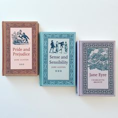 """""""Pride and Prejudice"""" and """"Sense and Sensibililty"""" by Jane Austen I Love Books, Books To Read, My Books, Book Aesthetic, Coffee And Books, Book Images, Pride And Prejudice, Book Nooks, Book Photography"""