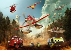 The special thanks section in Disney Infinity credits mentions Planes: Fire and Rescue. Could Dusty and Lil' Dipper be the final Disney Originals figures in Edition? Free Plane, Plane 2, Disney Planes Party, Disney Cars, Disney Movies, Film Disney, Disney Stuff, Julie Bowen, Nintendo 3ds