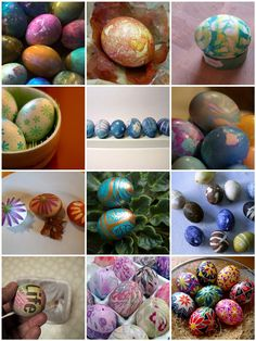12 interesting way to dye easter eggs