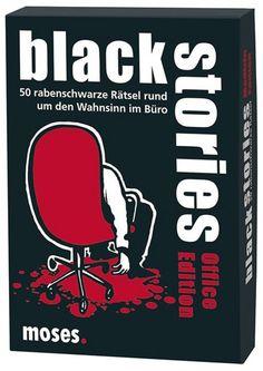 Black Stories - Office Edition Spielwaren Kartenspiele Black Stories