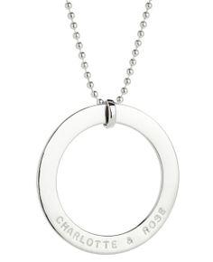 #koolamandesigns Penny sterling silver pendant. By Koolaman Designs.