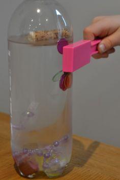 Pirate Magentic sensory bottle