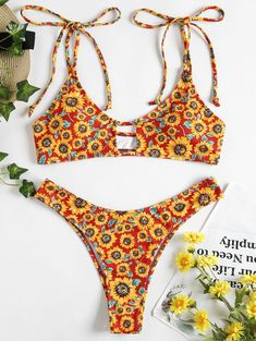 b8205a9352a 18 Best Sunflower Bikinis images in 2019 | Sunflower bikini, Bikini ...