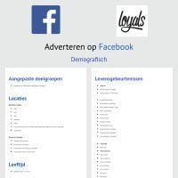 Infographic: Adverteren op Facebook