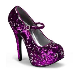 Sequin Mary Jane Heels by Bordello Shoes. Closed toe Mary Jane pumps with black lace overlay. These sexy Bordello brand heels have a stiletto heel and concealed platform. In hot pink, lime green, nude, and red High Heel Pumps, Platform High Heels, Pumps Heels, Stiletto Heels, Red Platform, Mary Jane Heels, Cute Shoes, Me Too Shoes, Shoes Uk