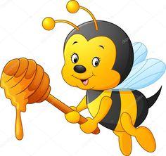 Resultado de imagen para abeja dibujo
