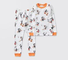 Organic Disney Mickey Mouse Halloween Pajama Set | Pottery Barn Kids