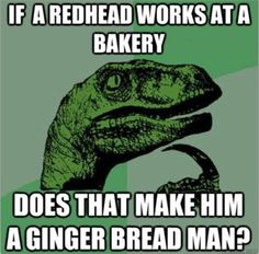 I hate ginger jokes, but this one was too funny to not laugh.