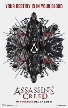Assassin's Creed (19/1/17) | Novo pôster diz que seu destino está no seu sangue | Notícia | Omelete