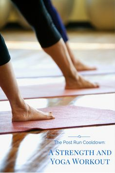 Training to run a half marathon doesn't always leave time for other cross training and strength training fitness activities. Check out this short strength training and yoga cool down workout for when you are done running.