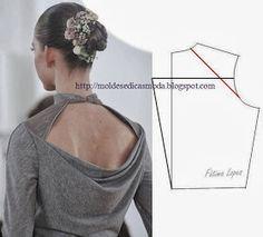 Moldes Moda por Medida: DETALHE DE MODELAÇÃO - 23