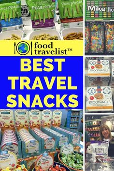 86930b96f5 Travel snacks are a must in our travel bags. From salty to sweet to  everything in between here s our best travel snack picks of