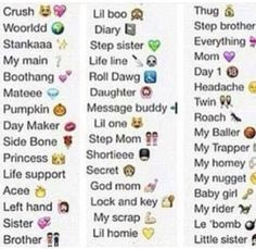 Pick a title - Pick one - Wattpad Cute Snapchat Names, Snapchat Nicknames, Noms Snapchat, Contact Names For Boyfriend, Names For Your Boyfriend, Boyfriend Boyfriend, Nicknames For Bestfriends, Funny Nicknames For Friends, Besties