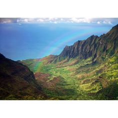 Fototapet Startonight Curcubeu peste munti, luminos in intuneric, 3.66 x 2.56 m