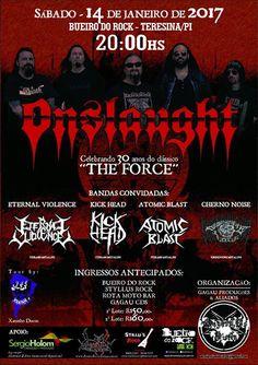 Força Metal BR: Onslaught: 14/01/2017 - Bueiro do Rock - Teresina ...