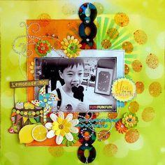 You Are My Sunshine - Bo Bunny - Lemonade Stand Collection