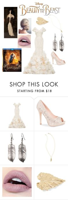 """""""Plumette's Inspired Look 🌹"""" by sepulvedamelanie ❤ liked on Polyvore featuring Disney, Zac Posen, Lauren Lorraine, Lilly Pulitzer, Lelet NY, BeautyandtheBeast and contestentry"""