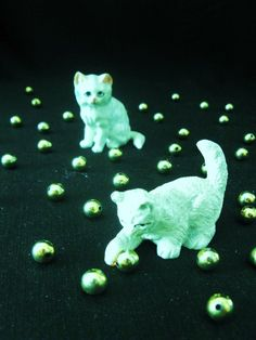Cats and beads