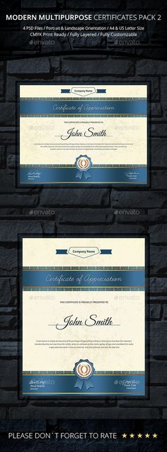 79 Best Certificate Templates images in 2017 | Certificate design