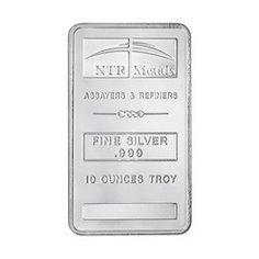 10oz New NTR Silver Bar