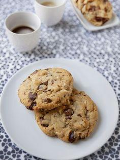 Cookies aux trois chocolats : Recette de Cookies aux trois chocolats - Marmiton