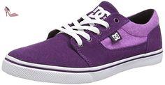DC Shoes  TONIK W SE J SHOE, Sneakers Basses femme - Violet - Violett (PUW), 37 - Chaussures dc shoes (*Partner-Link)