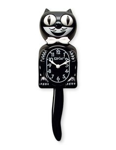 "8 Kitschy Decorations That Will Never Go Out Of Style #refinery29  http://www.refinery29.com/home-decorations-kitschy-home-accessories#slide-1  The Kit-Cat ClockBlack and white with eyes that bounce side to side, the dapper Kit-Cat Clock has been around for over 80 years. Kit-Cat claims the brand caught on because the cat clock's goofy looks managed to bring joy in a harrowing period for Americans — the Great Depression. As of 2016, Kit-Cat Clock now offers options: a ""Lady"" (with pearls)…"