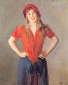 """Christian Krogh  """"Portrait of Oda Krogh """" National Gallery Oslo  and good article  here - http://www.j2parman.com/archive/NatGal3.pdf"""
